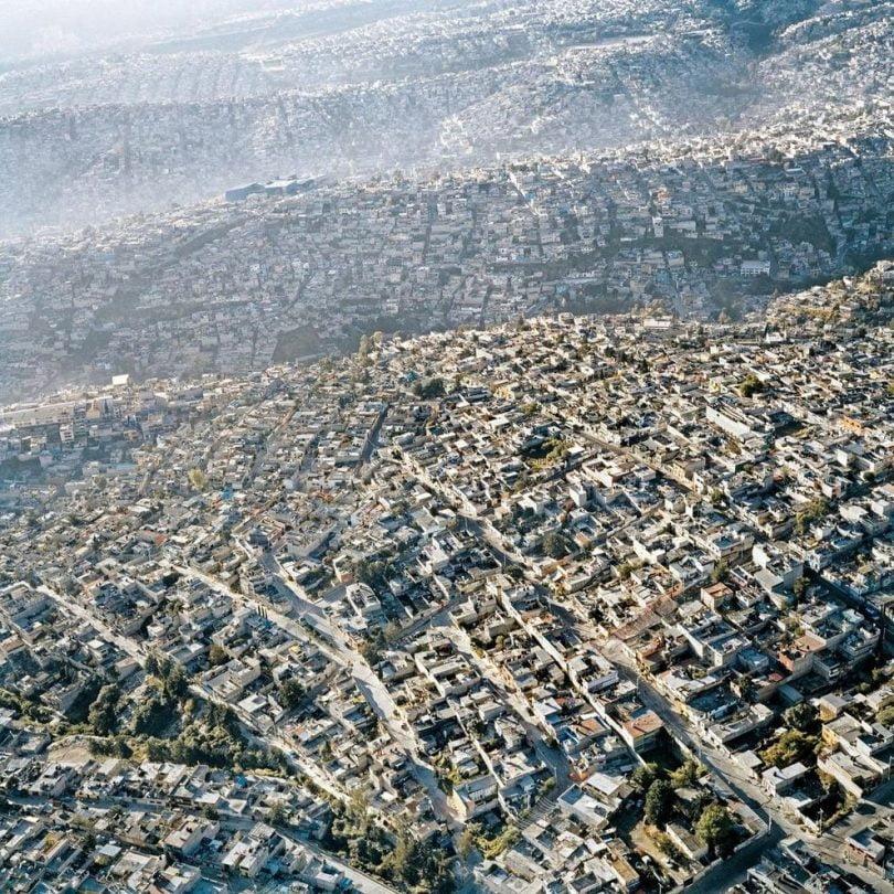 Mexico City, fotografie realizata de Pablo Lopez Luz