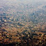 Shanghai, fotografie din avion
