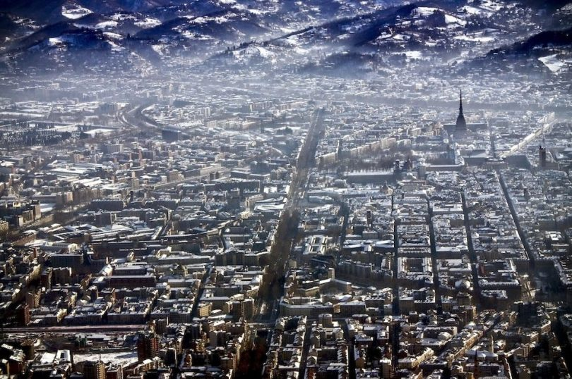 Torino pe timp de iarna