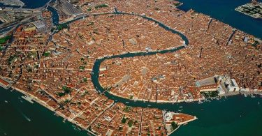 Venetia - fotografie realizata de Yann Arthus Bertran